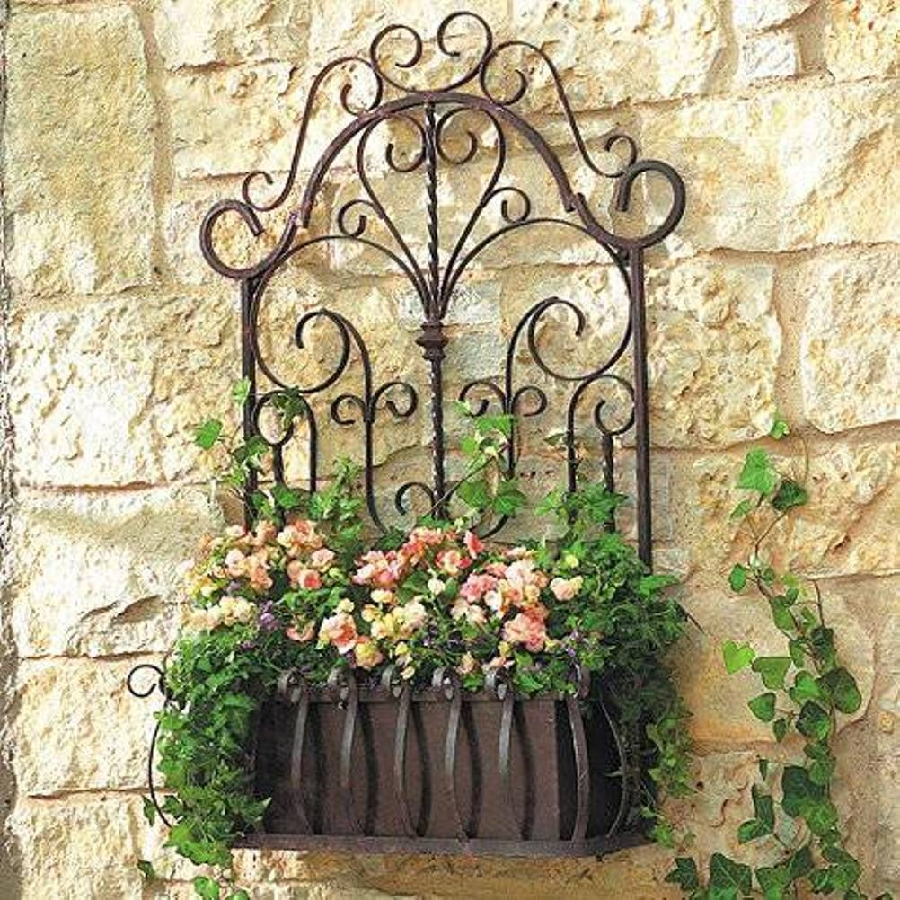 The Idea Of Using Wrought Iron Metal At Home – Allstateloghomes Throughout Best And Newest Faux Wrought Iron Wall Art (View 21 of 30)
