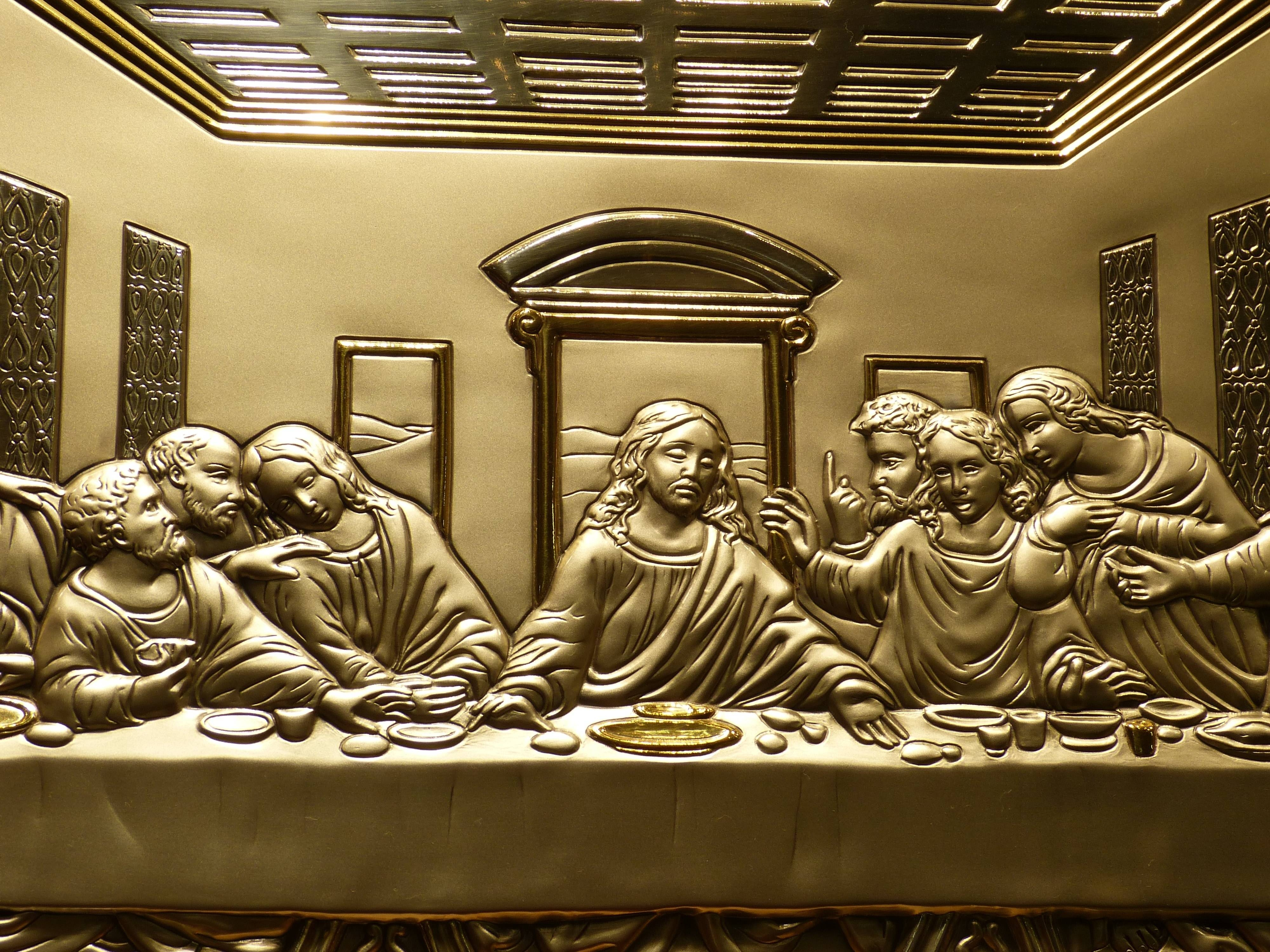 The Last Supper Gold Wall Art Free Image | Peakpx In 2018 Last Supper Wall Art (View 10 of 20)