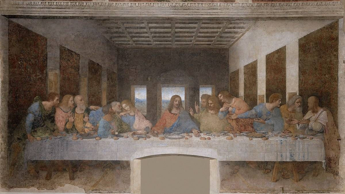 The Last Supper (Leonardo Da Vinci) – Wikipedia Inside Most Recent The Last Supper Wall Art (View 12 of 20)