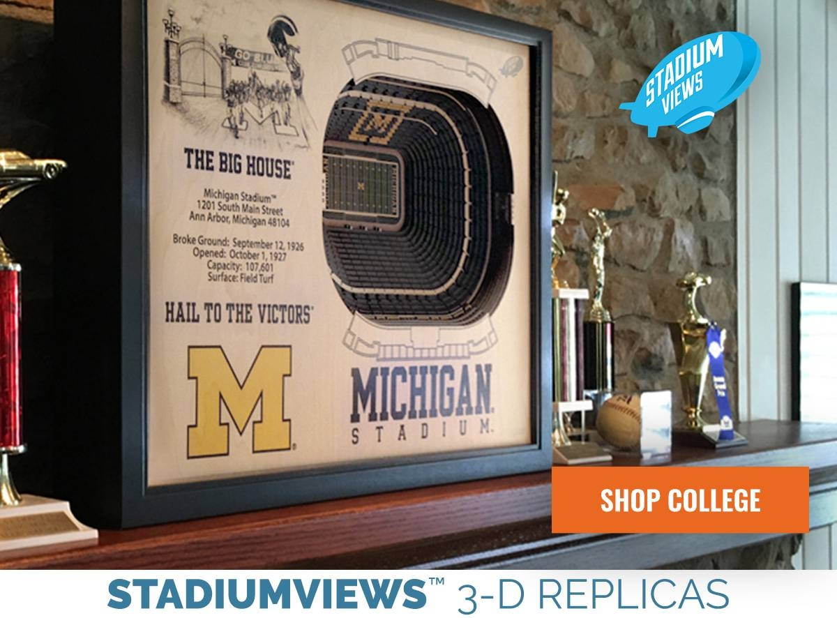 The Sportula Product Catalog Official Youthefan Store Throughout Newest 3D Stadium View Wall Art (View 13 of 20)