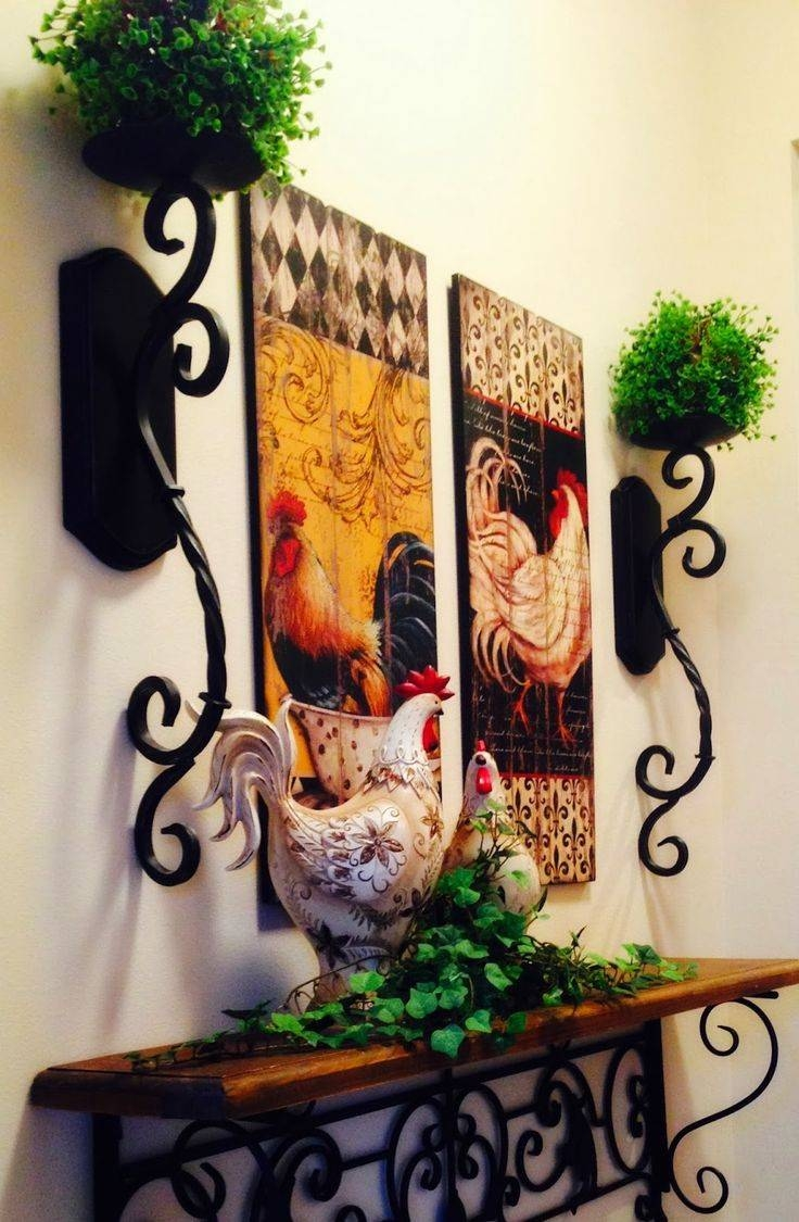 The Tuscan Home: Wall Vignette | Tuscan & Mediterranean Decorating Inside Newest Italian Wall Art Decor (View 15 of 30)