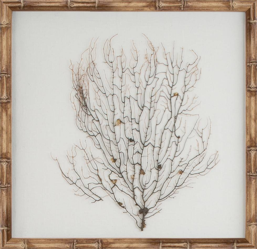 The Well Appointed House – Luxuries For The Home – The Well Regarding Most Popular Sea Fan Wall Art (View 21 of 25)