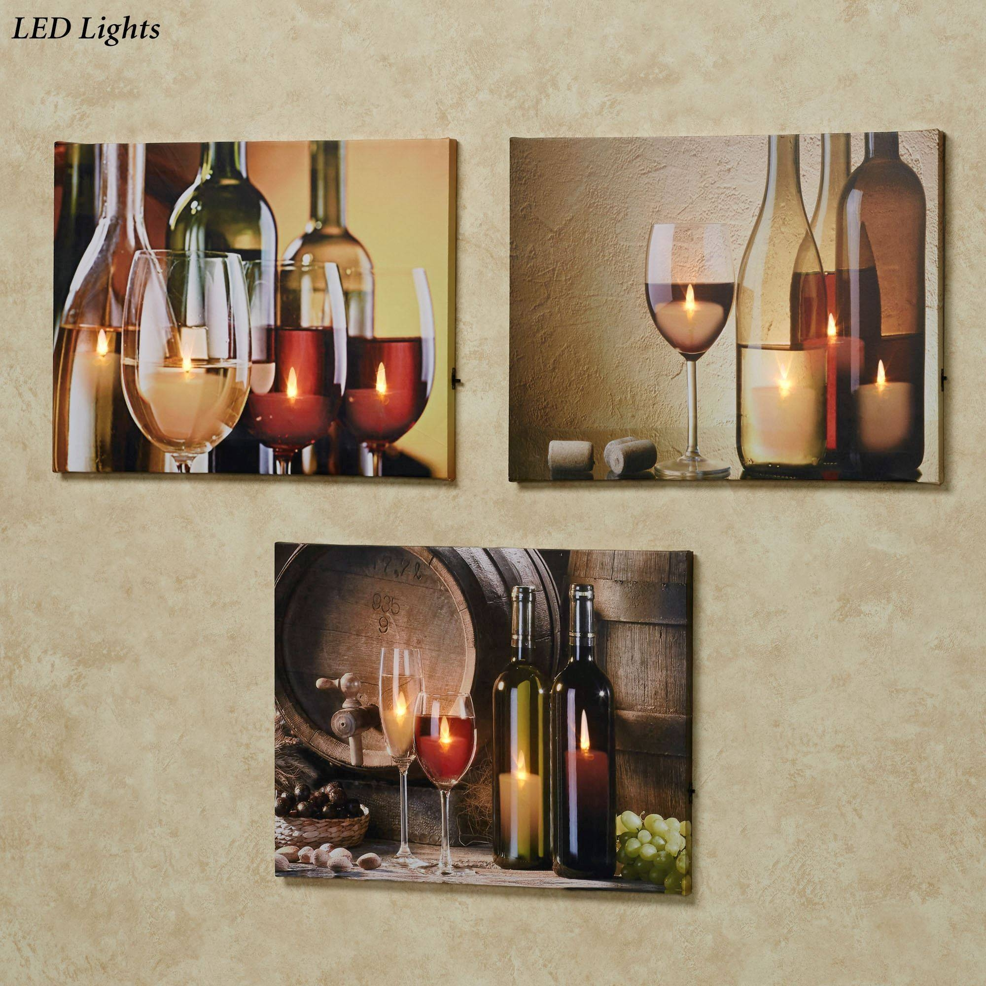 Themed Canvas Art | Touch Of Class Pertaining To Best And Newest Wine Theme Wall Art (Gallery 8 of 20)