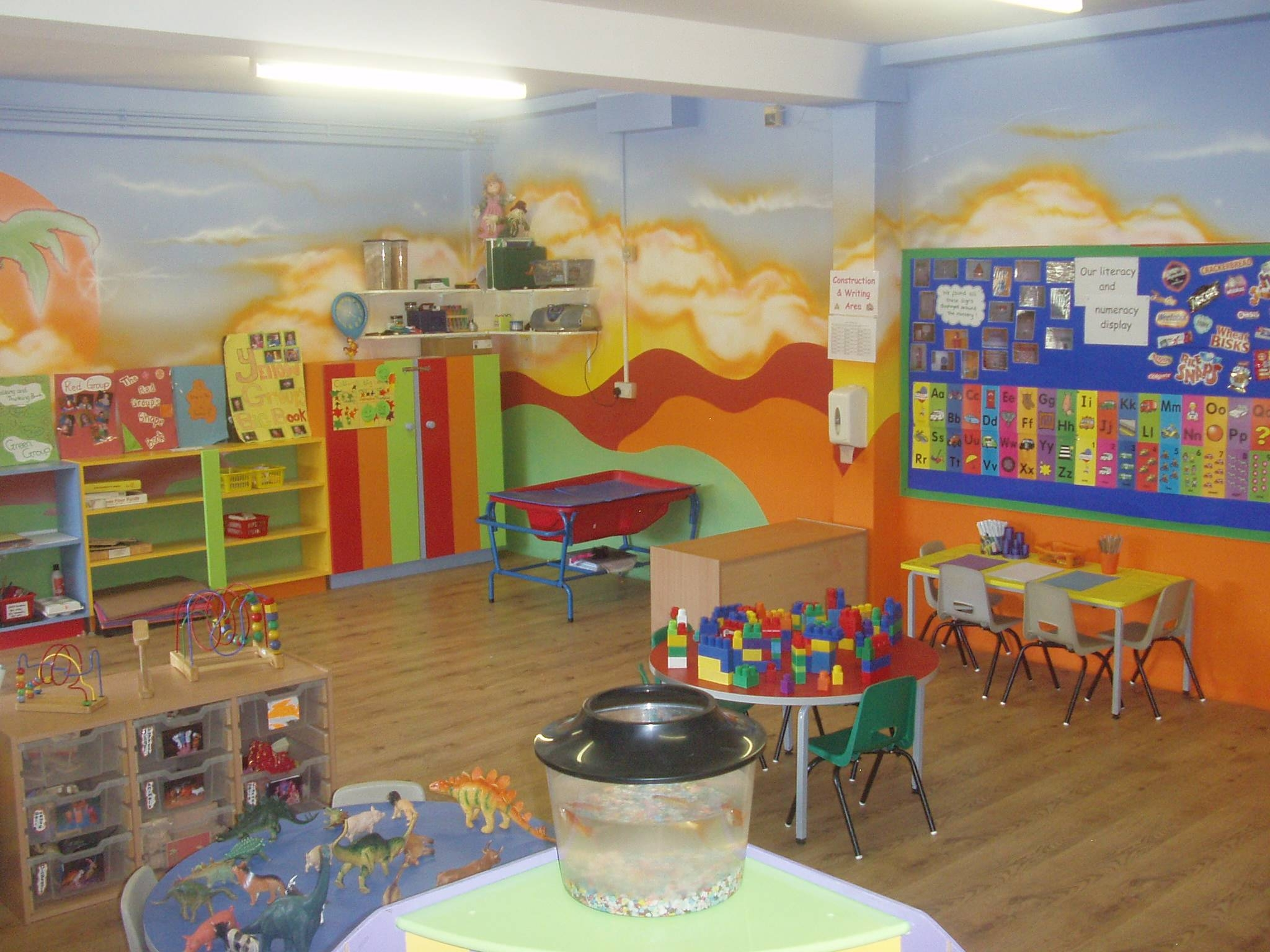 This Is The Daycare – Basement Designs – Decorating Ideas – Hgtv Within Most Up To Date Preschool Wall Decoration (View 29 of 30)