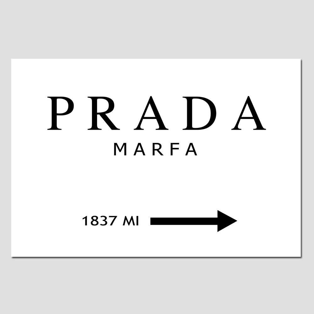 This Prada Marfa Canvas On The Hunt In Most Popular Prada Marfa Wall Art (View 24 of 25)