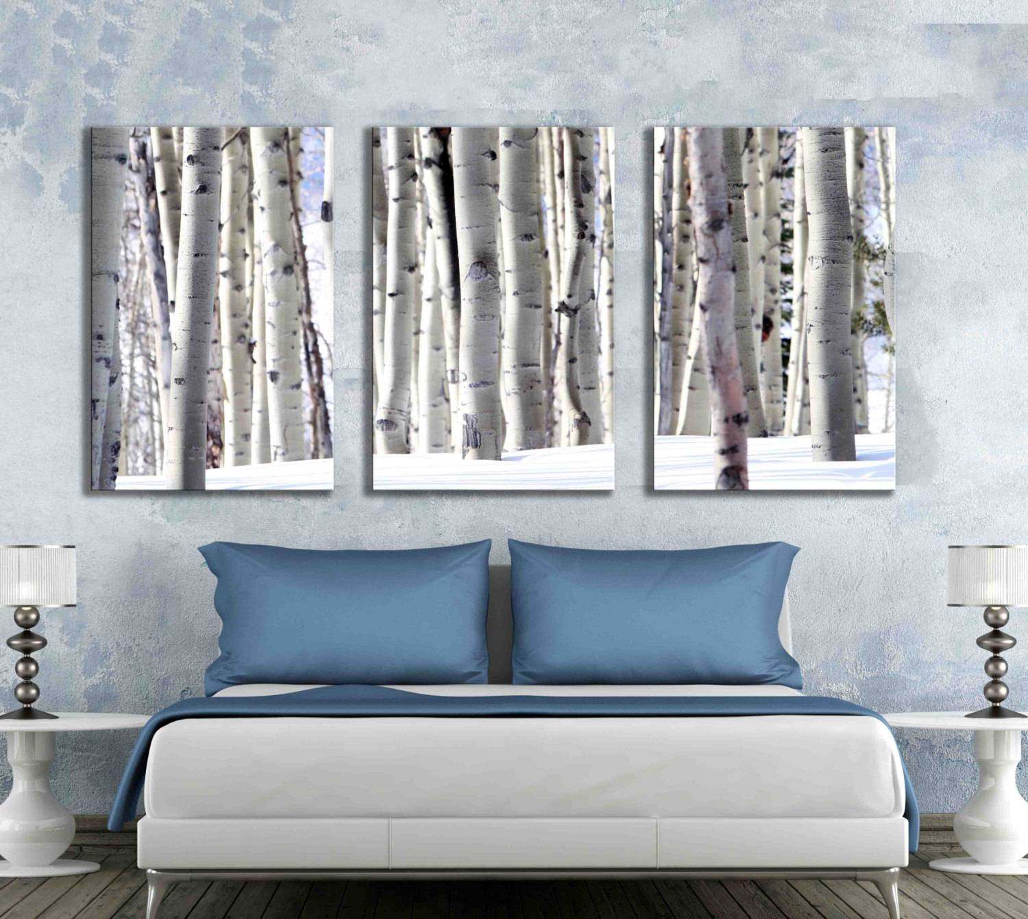 Featured Photo of Aspen Tree Wall Art