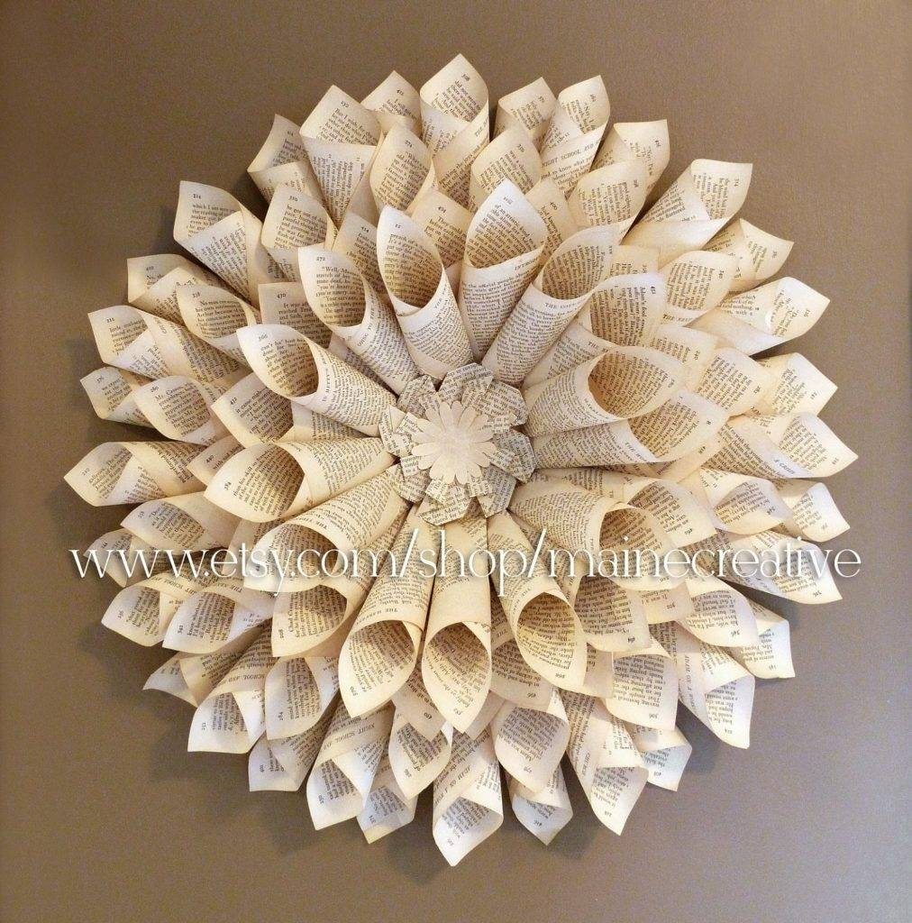 Three Dimensional Wall Art Wall Art Design Throughout 3 Regarding Most Recent Recycled Wall Art (Gallery 23 of 30)