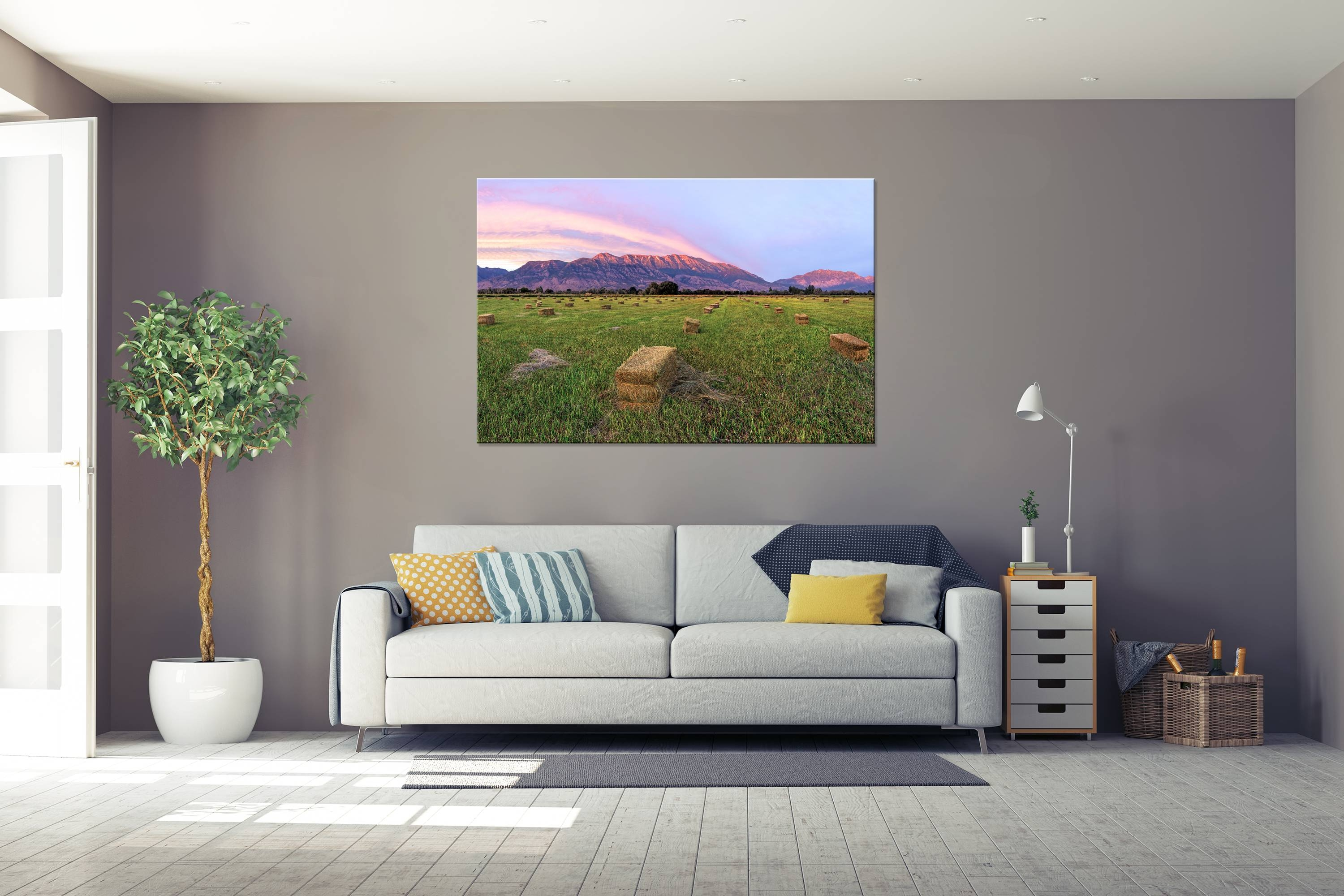 Timpanogos Farm – Rogue Aurora Photography Intended For Best And Newest Photography Wall Art (View 18 of 25)
