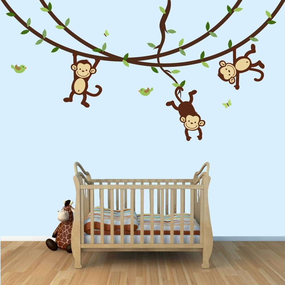 Tips & Ideas: Sock Monkey Crib Bedding For Soft Your Baby Cribs In Most Popular Sock Monkey Wall Art (View 3 of 30)