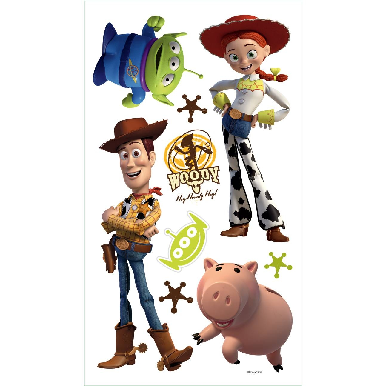 Toy Story 3 Removable Decals | Potty Training Concepts Throughout Most Up To Date Toy Story Wall Stickers (View 15 of 25)