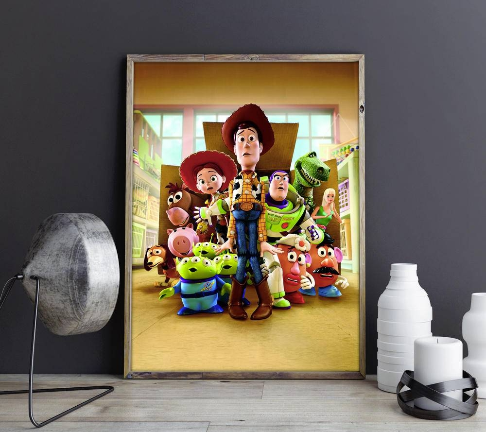 Toy Story Artwork Toy Story Wall Art Toy Story Wall Decor Toy Throughout Latest Toy Story Wall Art (View 3 of 30)