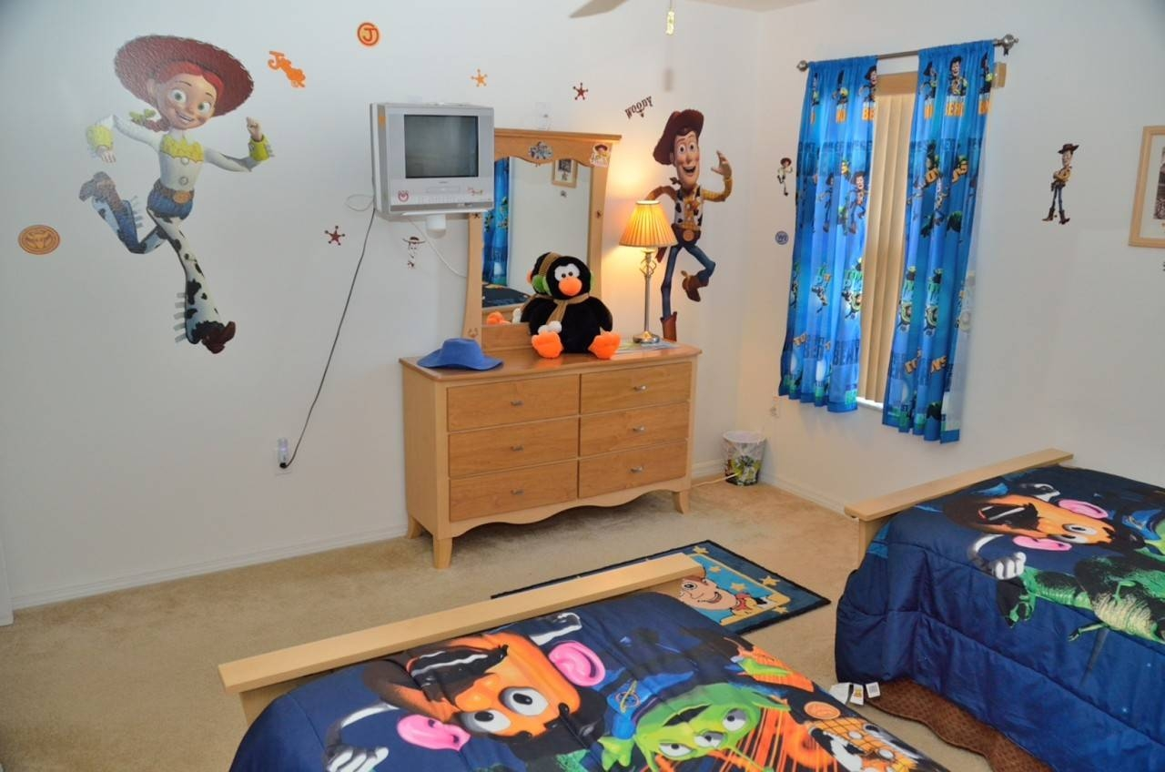 Toy Story Bedroom Decor For Kids | Homesfeed with 2017 Toy Story Wall Stickers