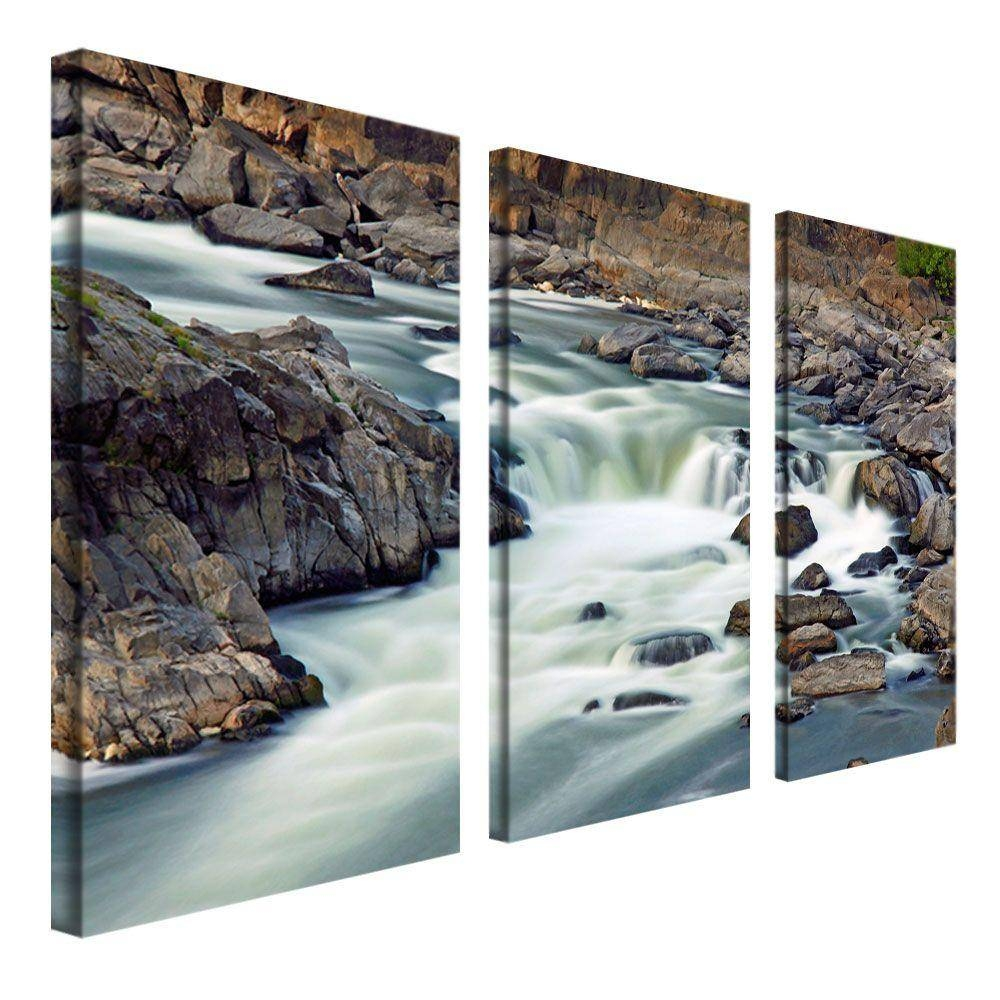 Trademark Fine Art 12 In. X 24 In. A Treasure 3-Piece Canvas Art pertaining to Recent 3 Piece Wall Art Sets