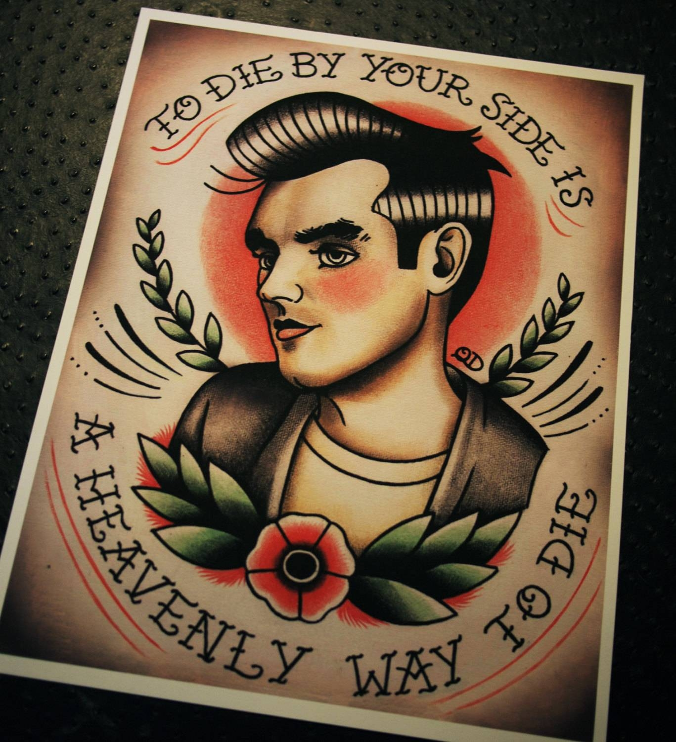 Traditional Tattoo Flash And Wall Art Photo – 4: Real Photo Throughout Newest Tattoos Wall Art (View 18 of 20)