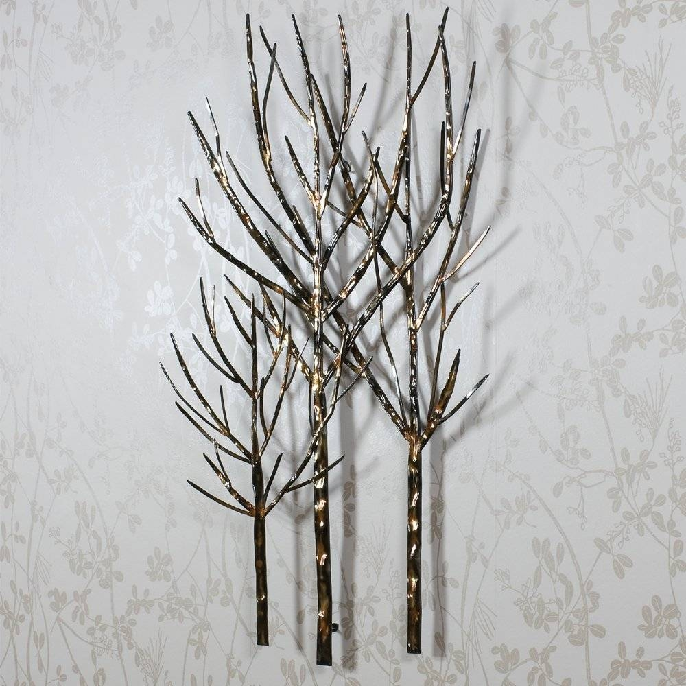 Featured Photo of Metal Wall Art Trees and Branches
