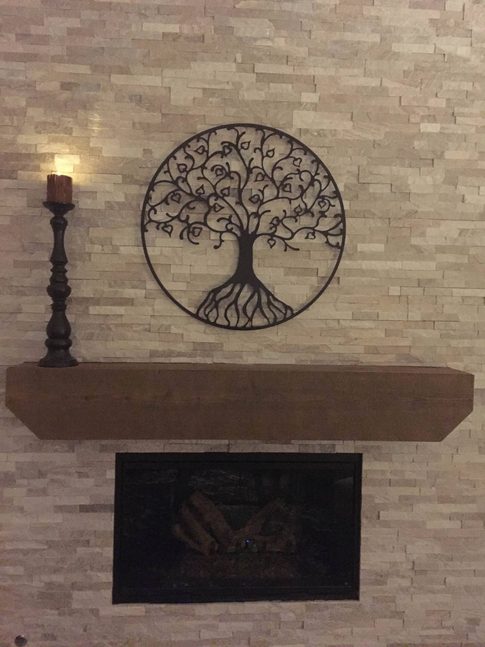 Tree Of Life Large Metal Wall Art Sculpture With Dark Bronze With 2018 Bronze Tree Wall Art (View 25 of 25)
