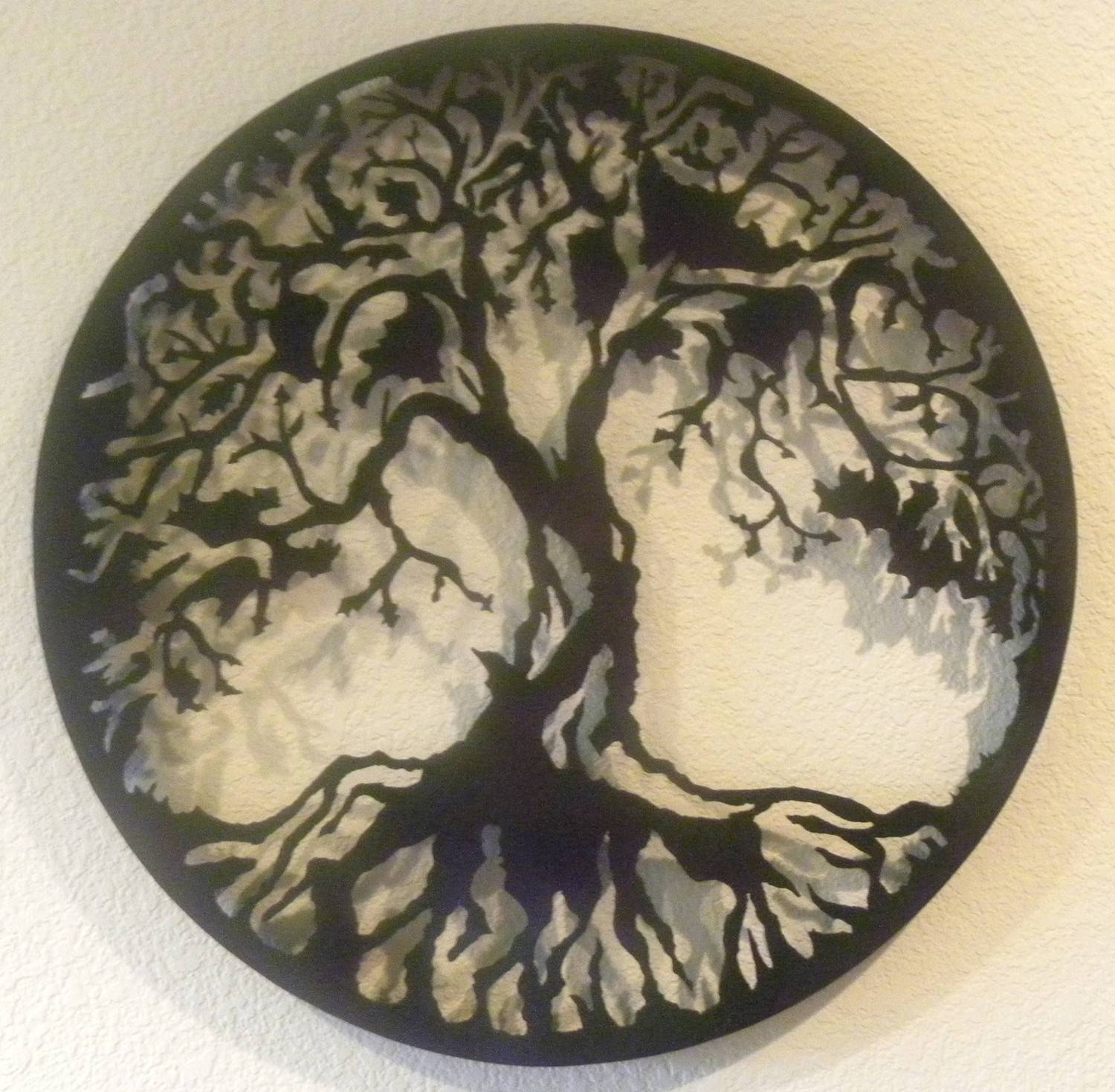 Tree Of Life Metal Wall Art Throughout Newest Celtic Tree Of Life Wall Art (View 22 of 30)