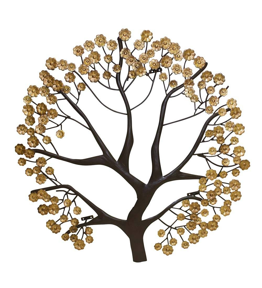 Tree Of Life Metal Wall Art | Wind & Weather With Regard To Newest Metal Wall Art Trees And Branches (View 13 of 18)