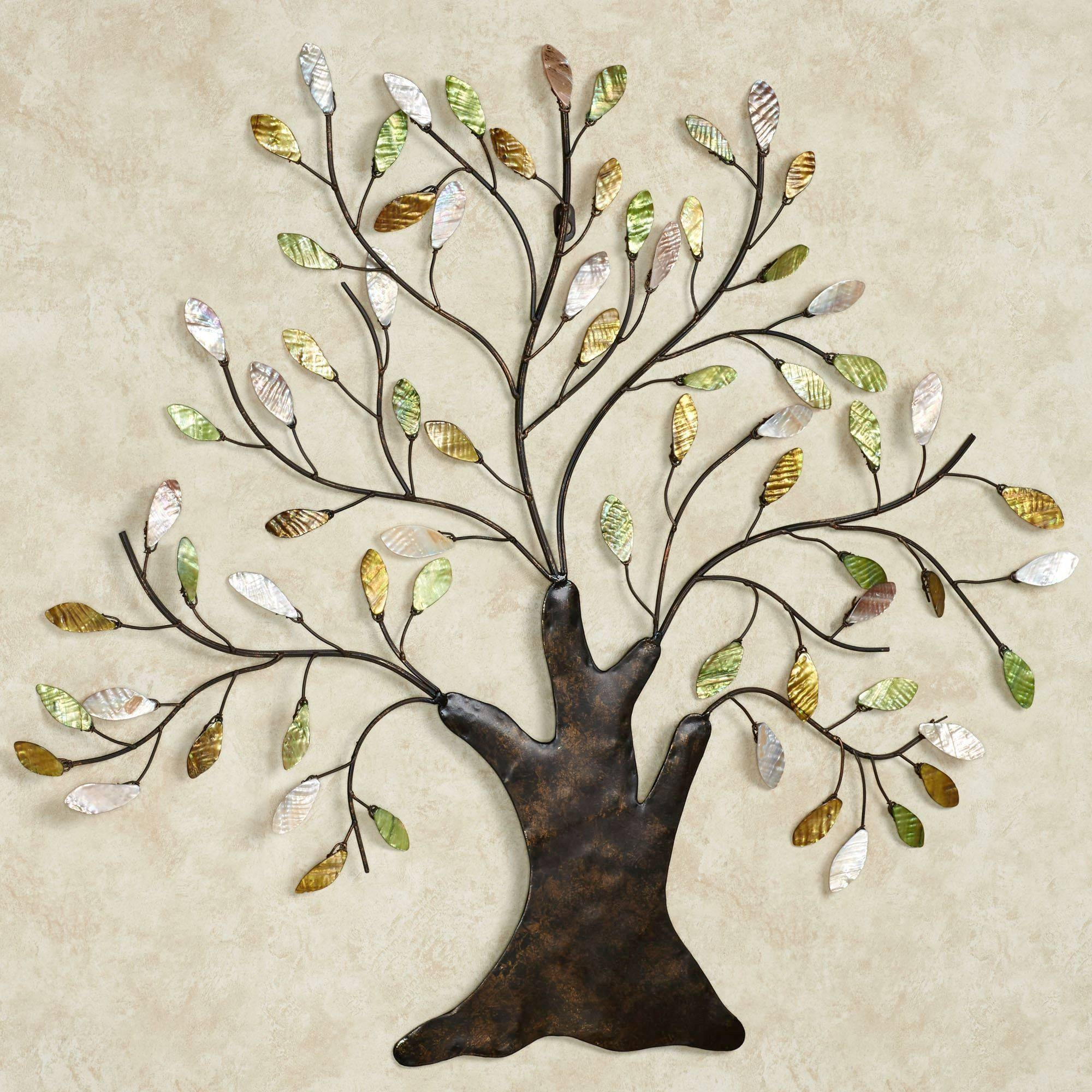 Tree Wall Art 2017 – Grasscloth Wallpaper For Current Jeweled Metal Wall Art (View 5 of 20)
