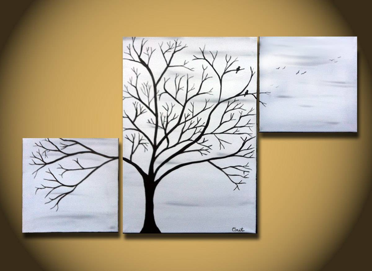 Tree Wall Art Canvas | Wallartideas With Most Recently Released Country Canvas Wall Art (View 10 of 20)