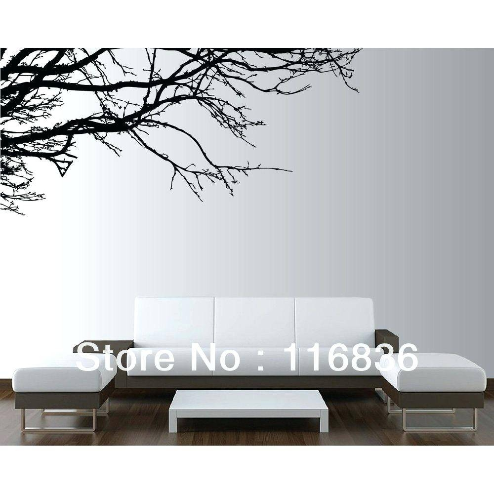 Tree Wall Art Decals Vinyl Sticker Nature Vinyl Wall Art Tree Top With Regard To 2018 Vinyl Wall Art Tree (View 10 of 20)