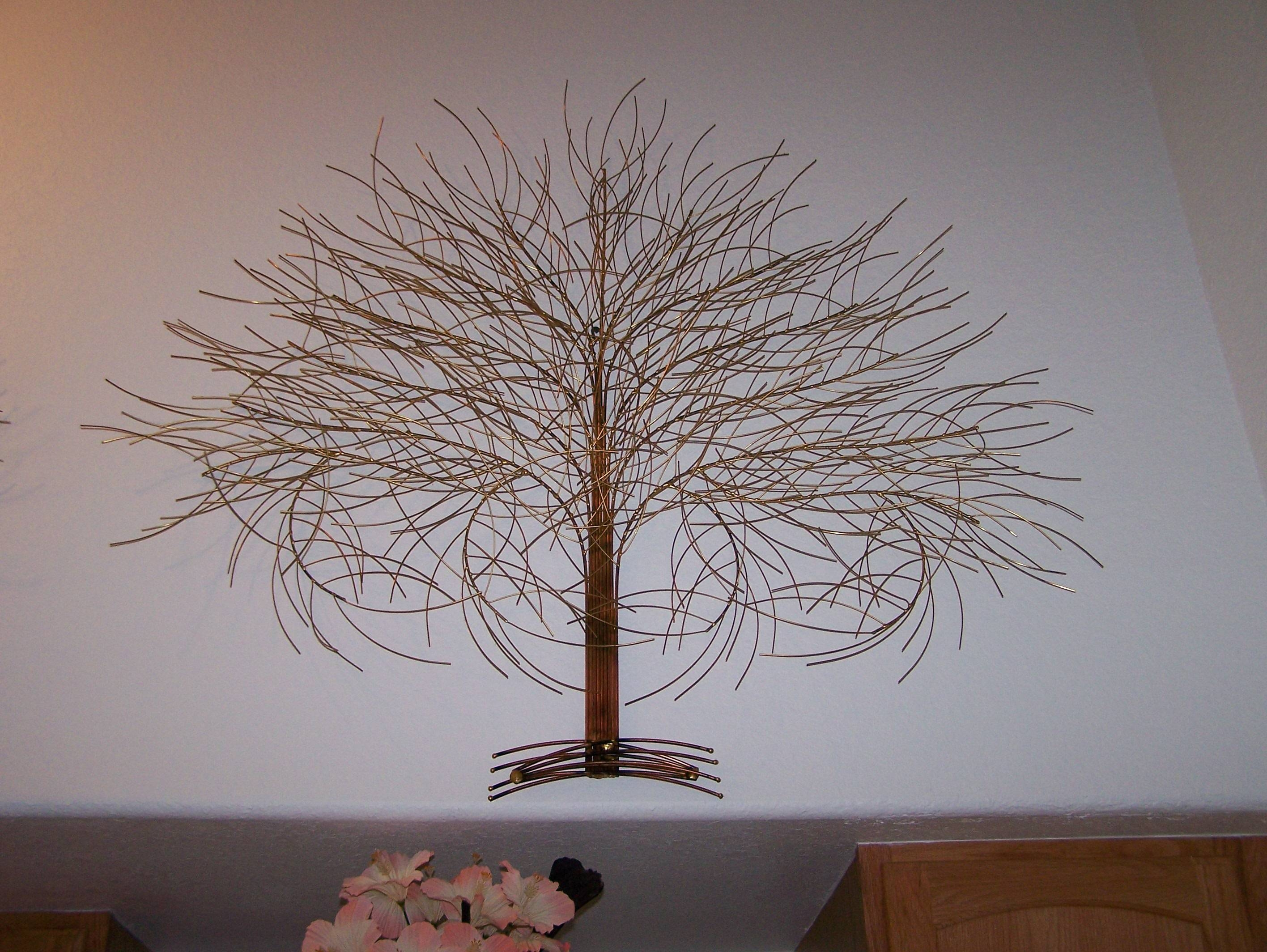 Tree Wall Art Sculpture | Wallartideas For Most Current Tree Wall Art Sculpture (View 16 of 20)