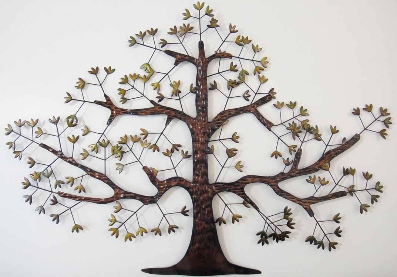 Tree Wall Art Uk | Wallartideas Inside Best And Newest Oak Tree Metal Wall Art (View 19 of 30)