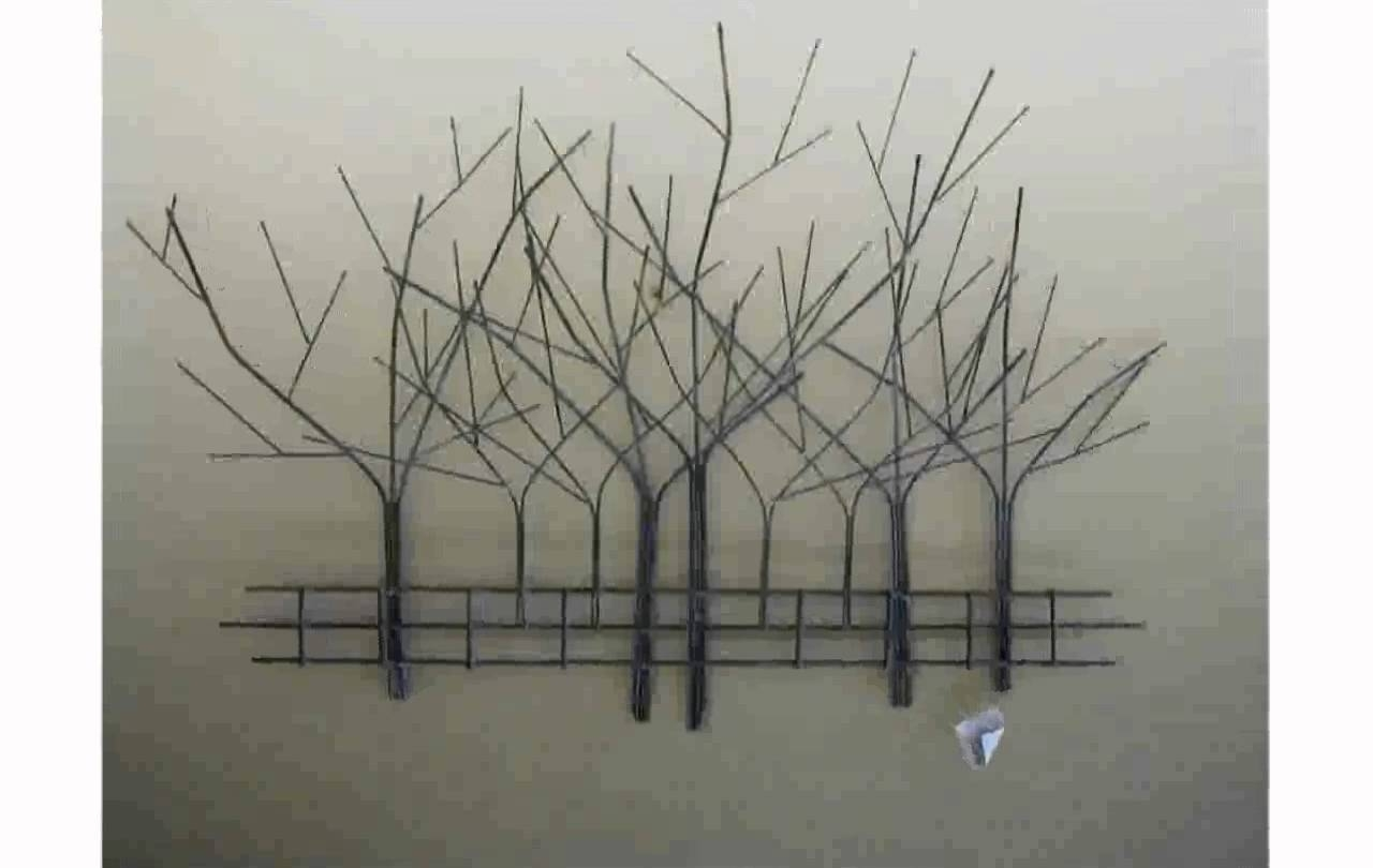 Tree Wall Art – Youtube For Most Recently Released Metal Wall Art Trees And Branches (View 3 of 18)