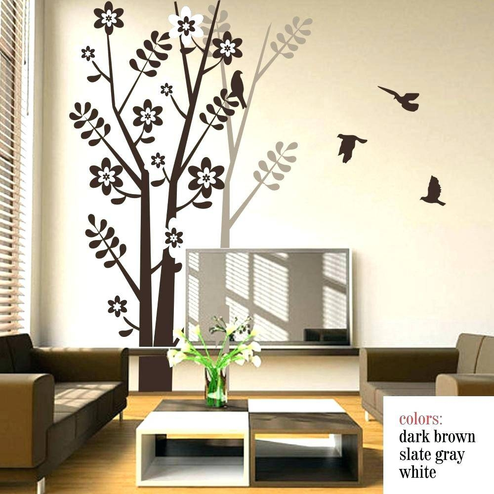 Tree Wall Decals Canada Wall Decals Premium Vinyl Wall Art Pertaining To Most Current Vinyl Wall Art Tree (View 12 of 20)