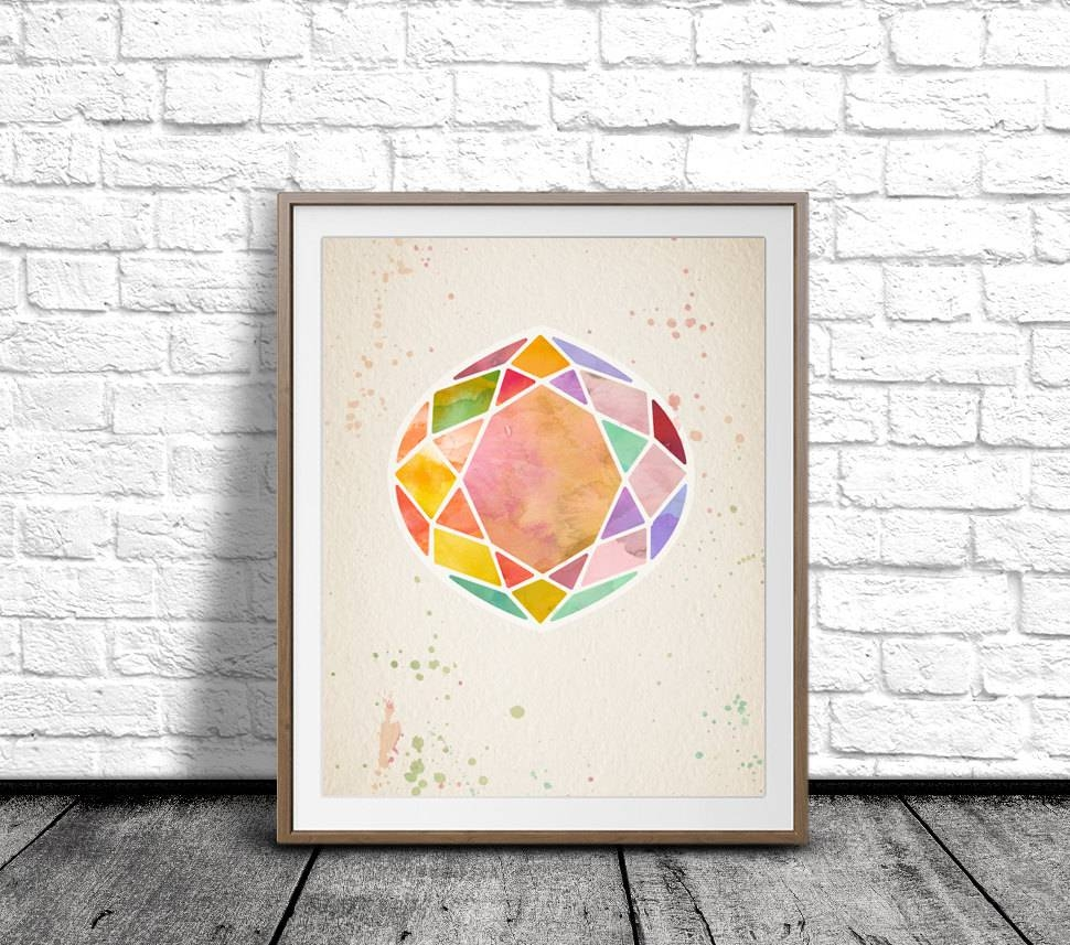 Trend Gemstone Wall Art 47 About Remodel Online With Gemstone Wall Intended For 2018 Gemstone Wall Art (View 29 of 31)