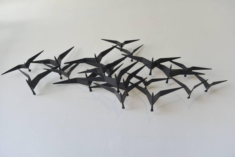 Featured Photo of Birds In Flight Metal Wall Art