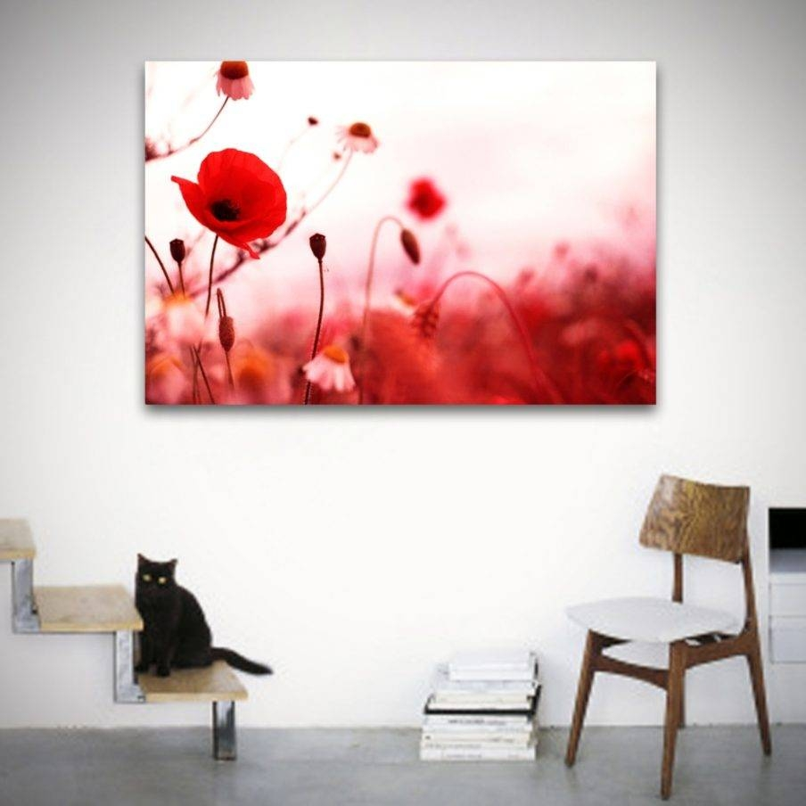 Trendy Poppy Metal Wall Art Uk Beautiful Contemporary Wall Art Intended For 2018 Metal Poppy Wall Art (View 18 of 30)