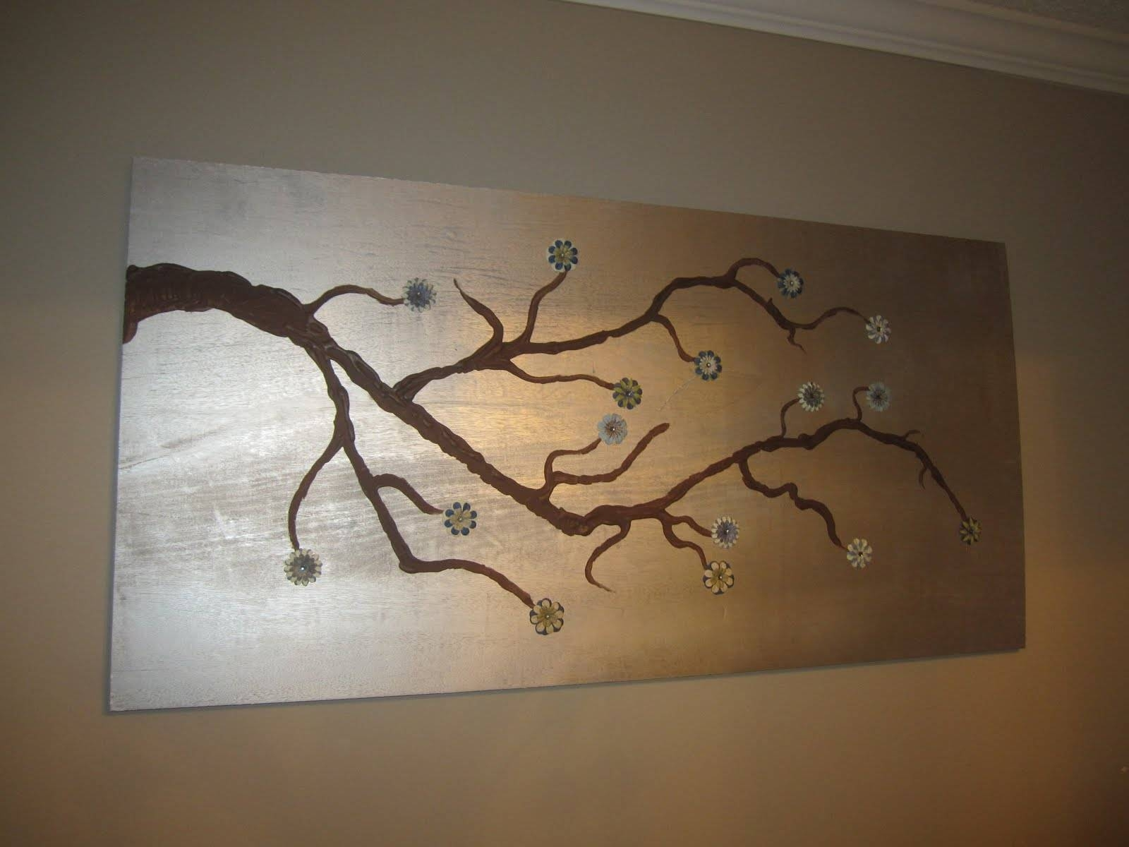 Trendy Wall Decor Cherry Blossom Branch Nursery Tree Branch Wall Regarding Current Tree Branch Wall Art (Gallery 20 of 20)