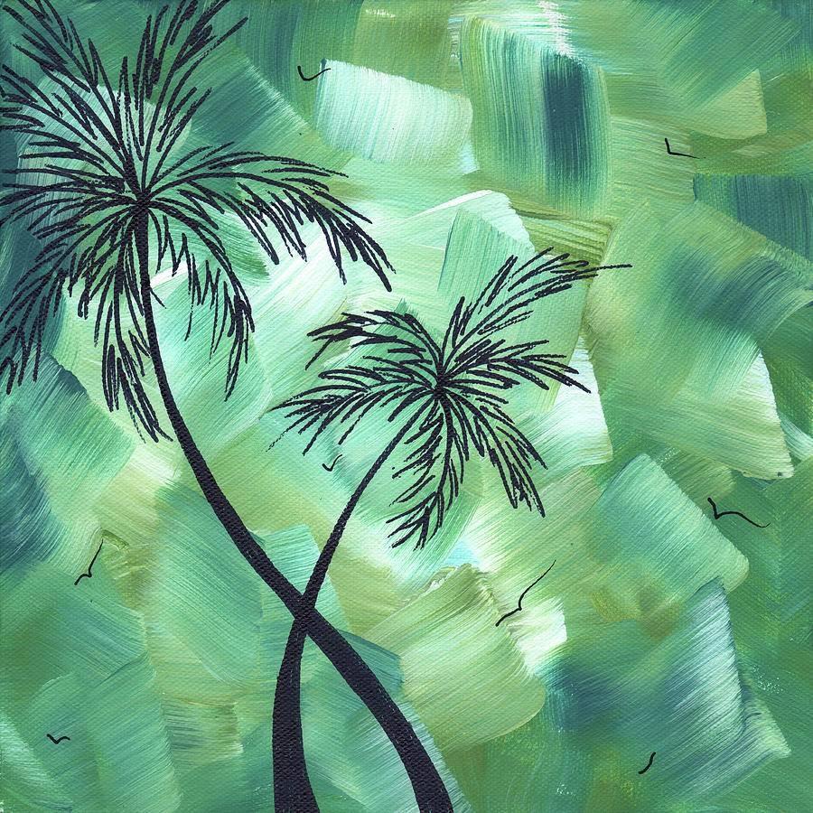 Tropical Dance 3Madart Paintingmegan Duncanson Within Most Popular Megan Duncanson Metal Wall Art (View 15 of 25)