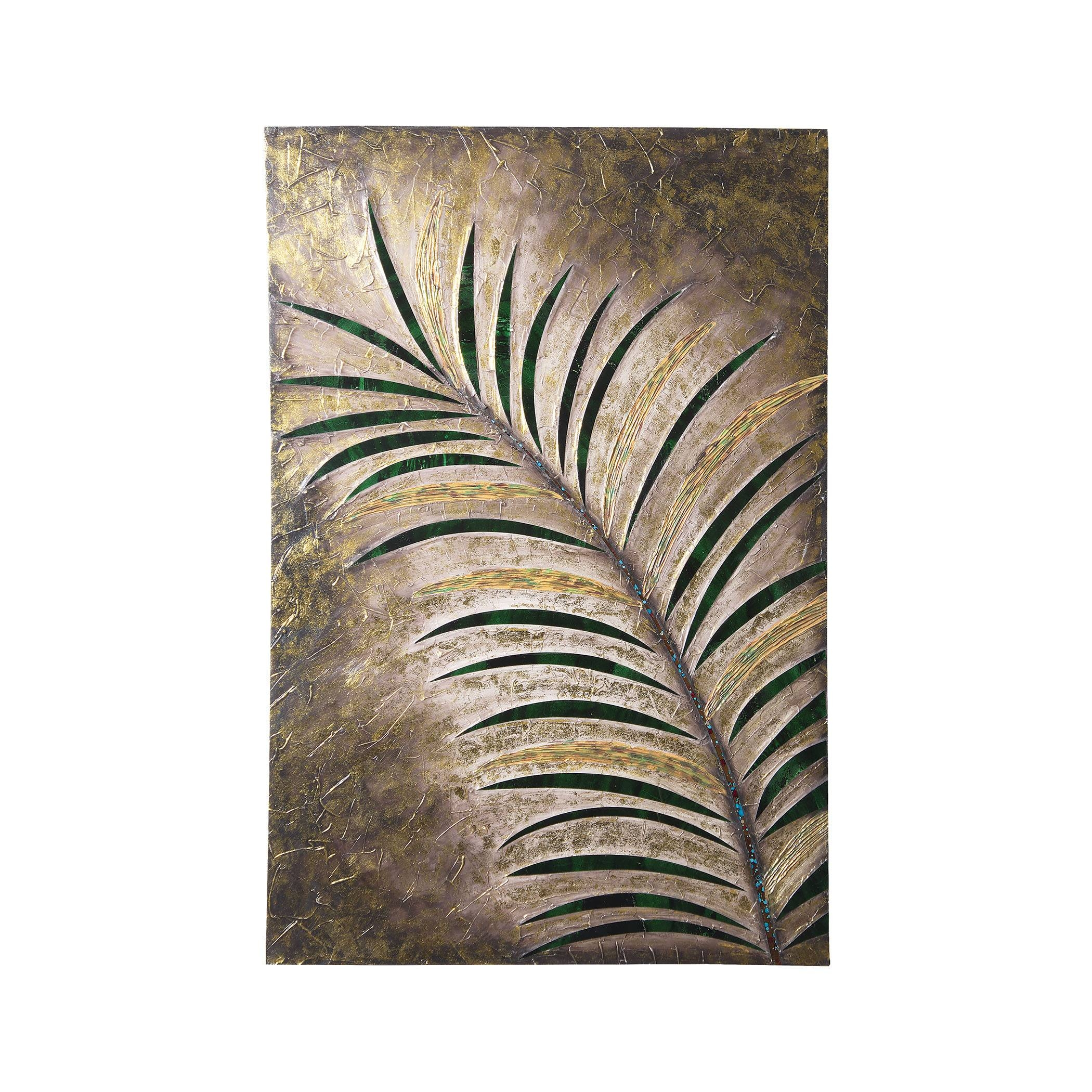 Tropical Palm Leaf Wall Art Black & White – Set Of 2 In Most Recently Released Palm Leaf Wall Decor (View 20 of 25)