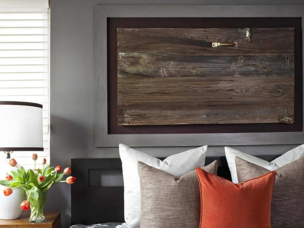 Turn An Architectural Item Into Art | Hgtv Regarding 2017 Over The Bed Wall Art (View 17 of 20)