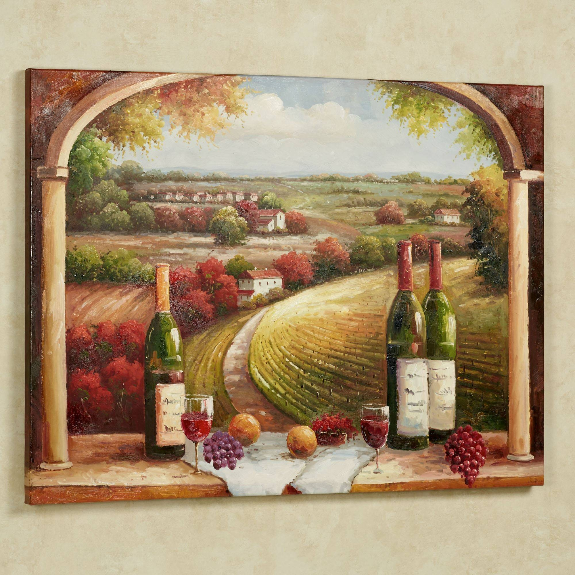 Tuscan Charm Canvas Wall Art Pertaining To Latest Tuscany Wall Art (View 2 of 20)