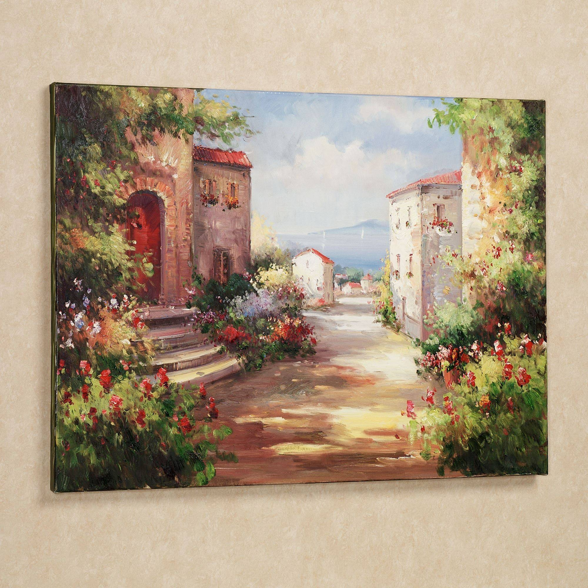 Tuscan Wall Art Style – Awesome House : Kitchen Tuscan Wall Art Tile Throughout Recent Tuscany Wall Art (View 8 of 20)