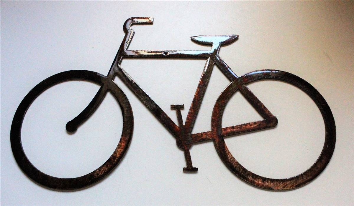 Twitter For Current Bicycle Metal Wall Art (View 15 of 20)