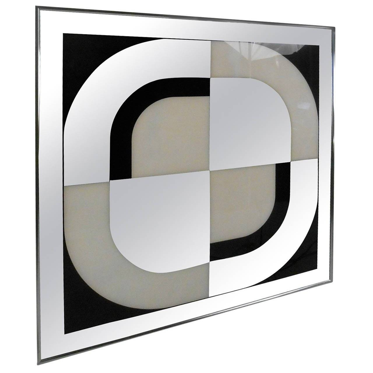 Unique Mid Century Modern Mirrored Wall Artturner Design For Within Latest Modern Mirrored Wall Art (View 15 of 20)
