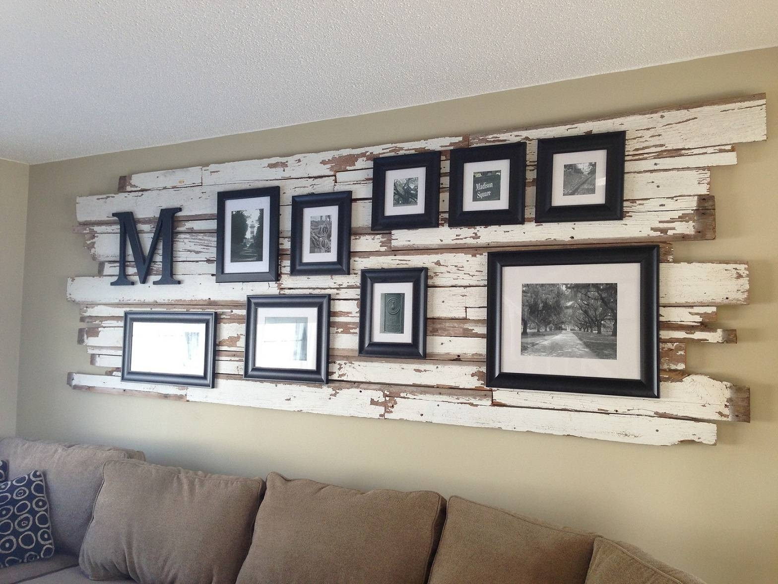 Unique Pallet Wall Art Ideas And Designs – Gallery | Gallery For Most Up To Date Large Unique Wall Art (View 4 of 20)