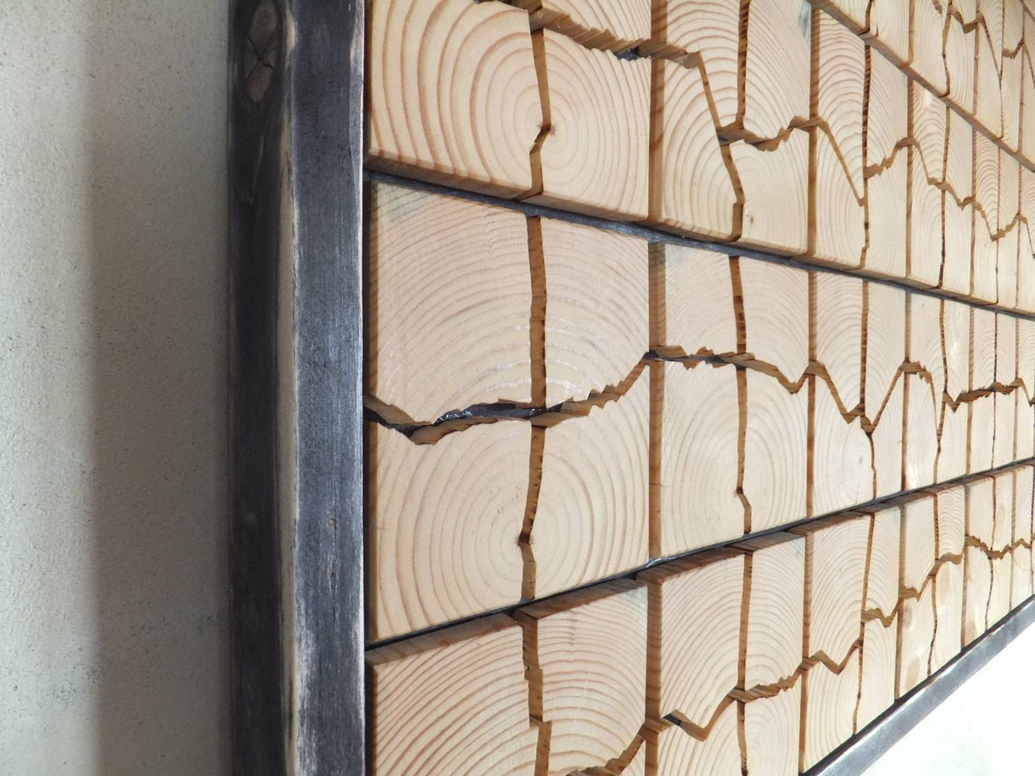 Unique Wooden Wall Art – 53 X 32 X  (View 14 of 20)