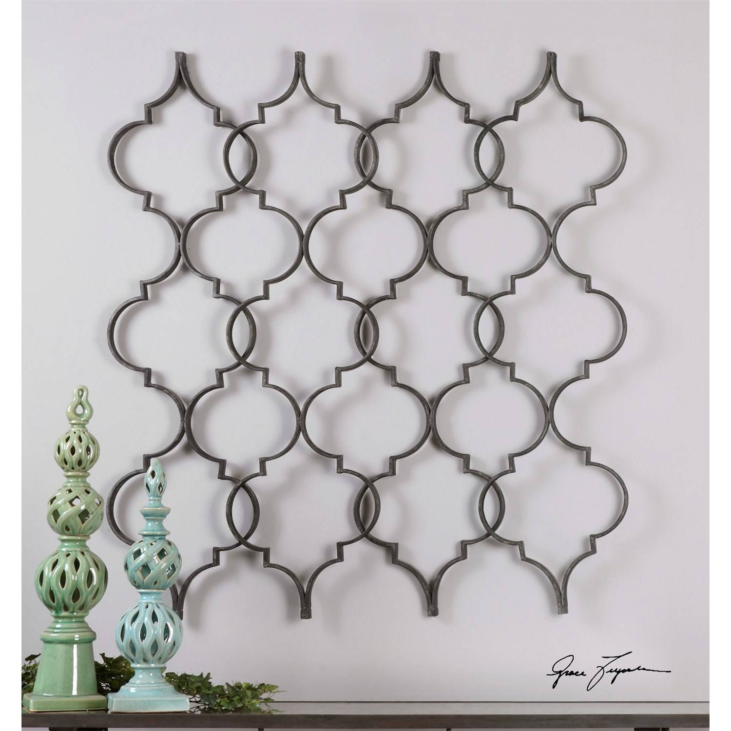 Uttermost 13992 Zakaria Metal Wall Art - Homeclick with regard to Best and Newest Uttermost Metal Wall Art
