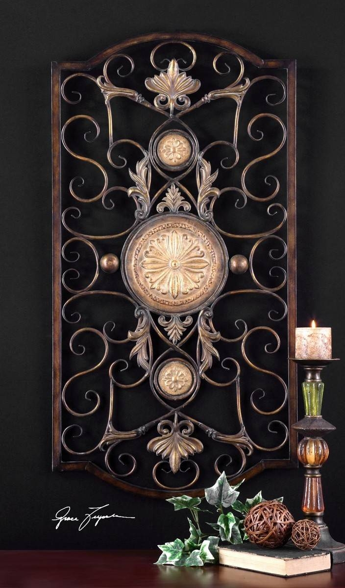 Uttermost Micayla Large Metal Wall Art Uttermost 13476 At Within Most Current Uttermost Metal Wall Art (View 9 of 20)