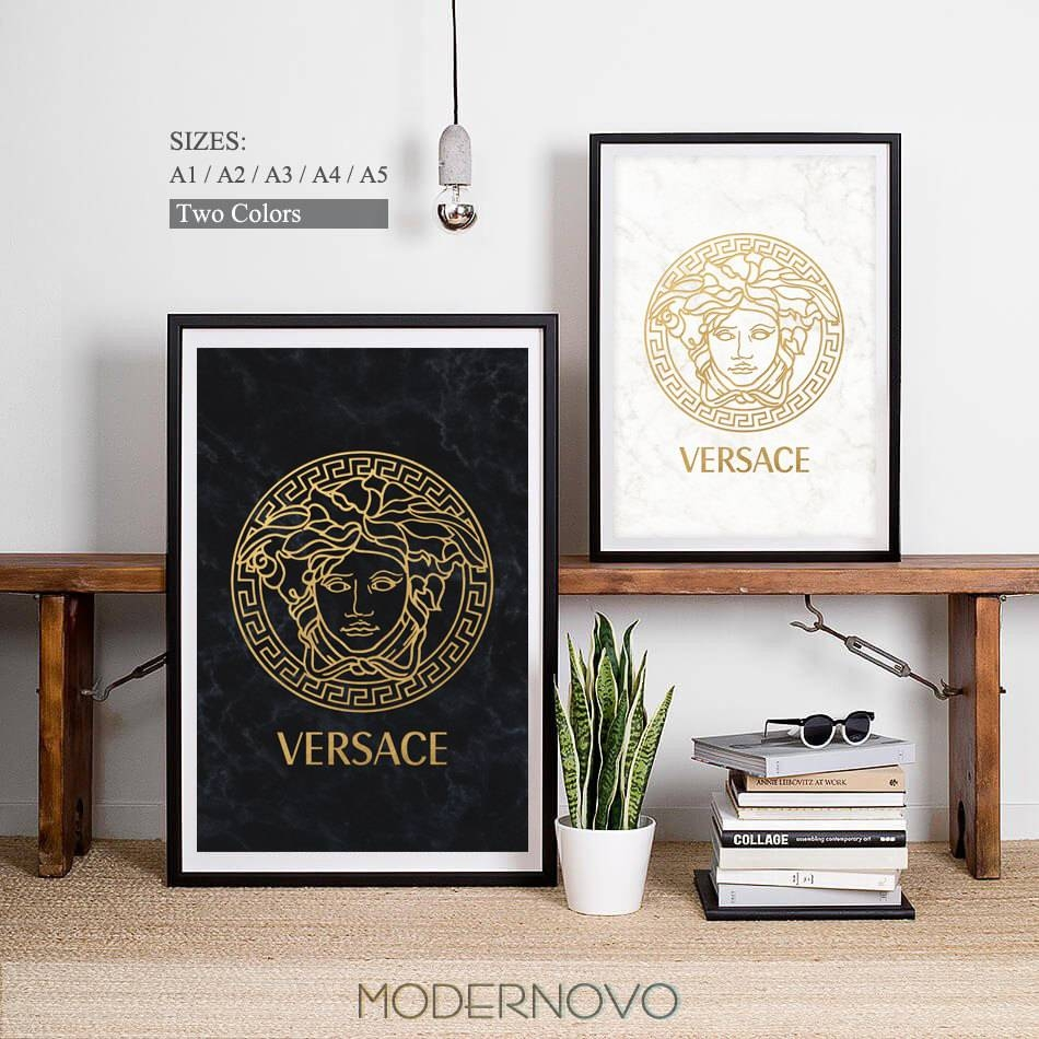 Versace Clipart Fashion Company - Pencil And In Color Versace in Newest Versace Wall Art
