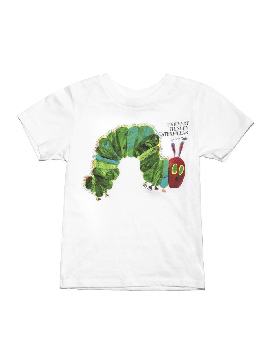 Very Hungry Caterpillar Youth T-Shirt | The Eric Carle Museum Of within Newest The Very Hungry Caterpillar Wall Art