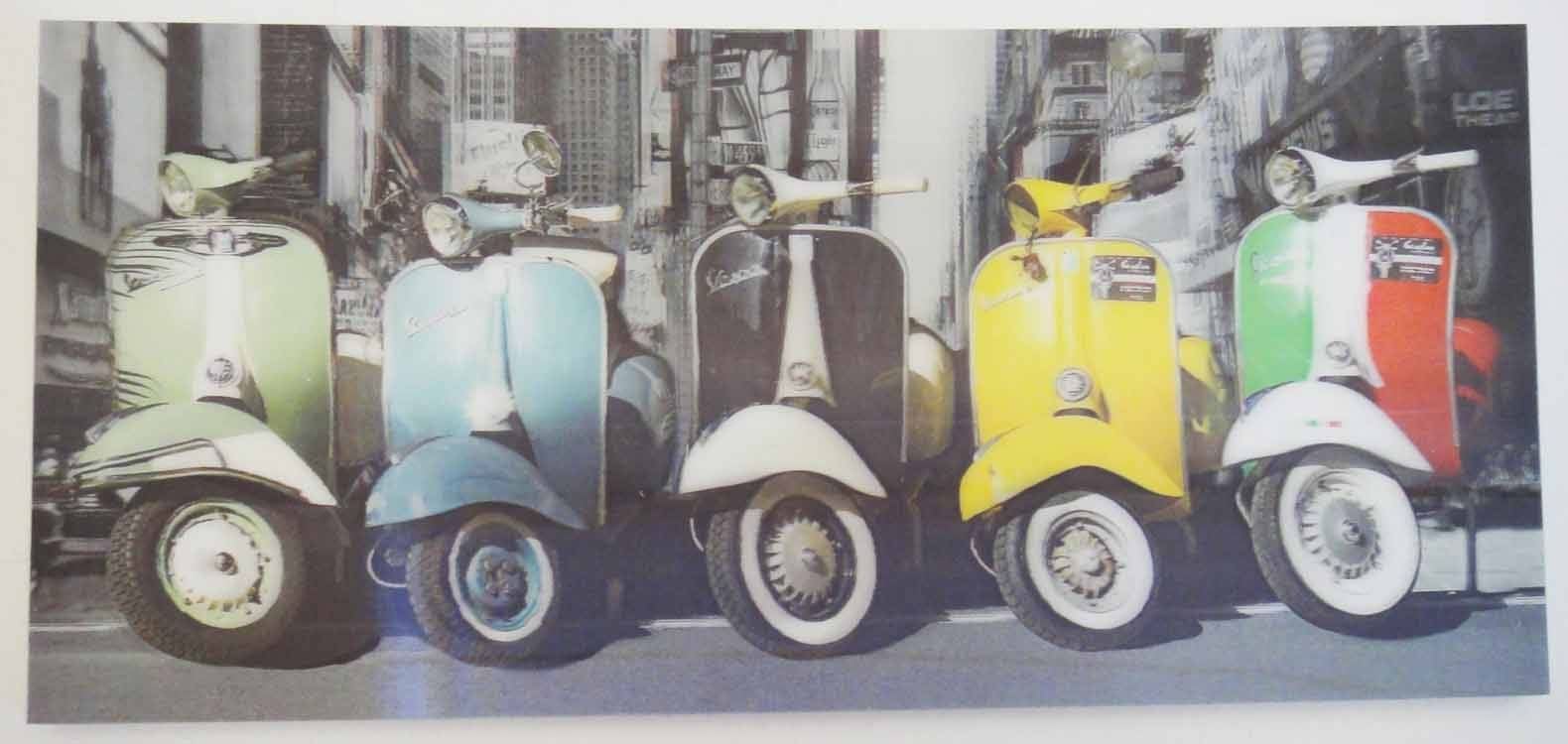 Featured Photo of Vespa 3d Wall Art
