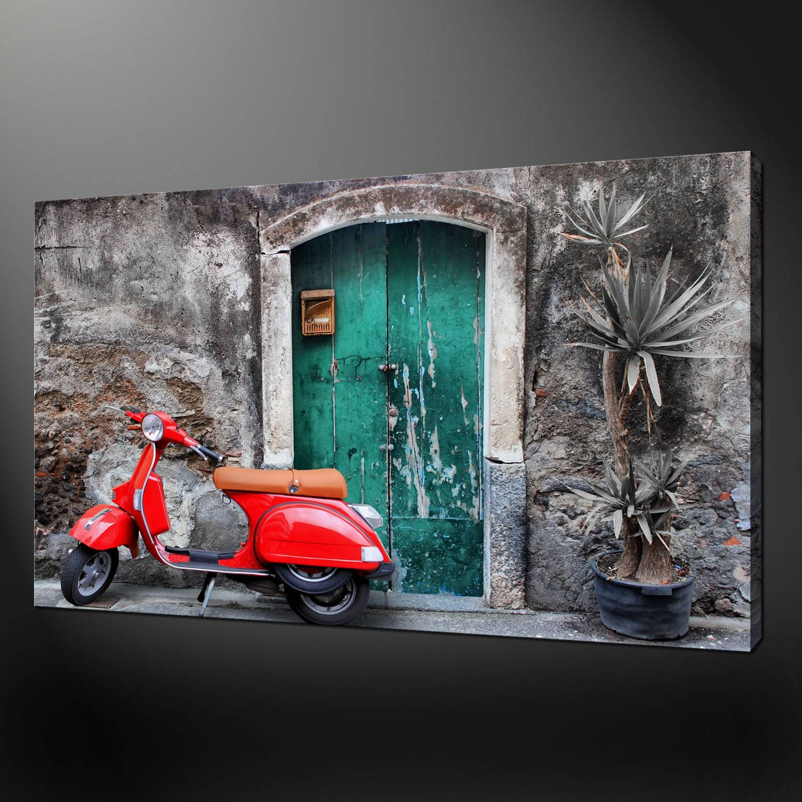 Vespa Picture | Ebay with Most Popular Vespa 3D Wall Art
