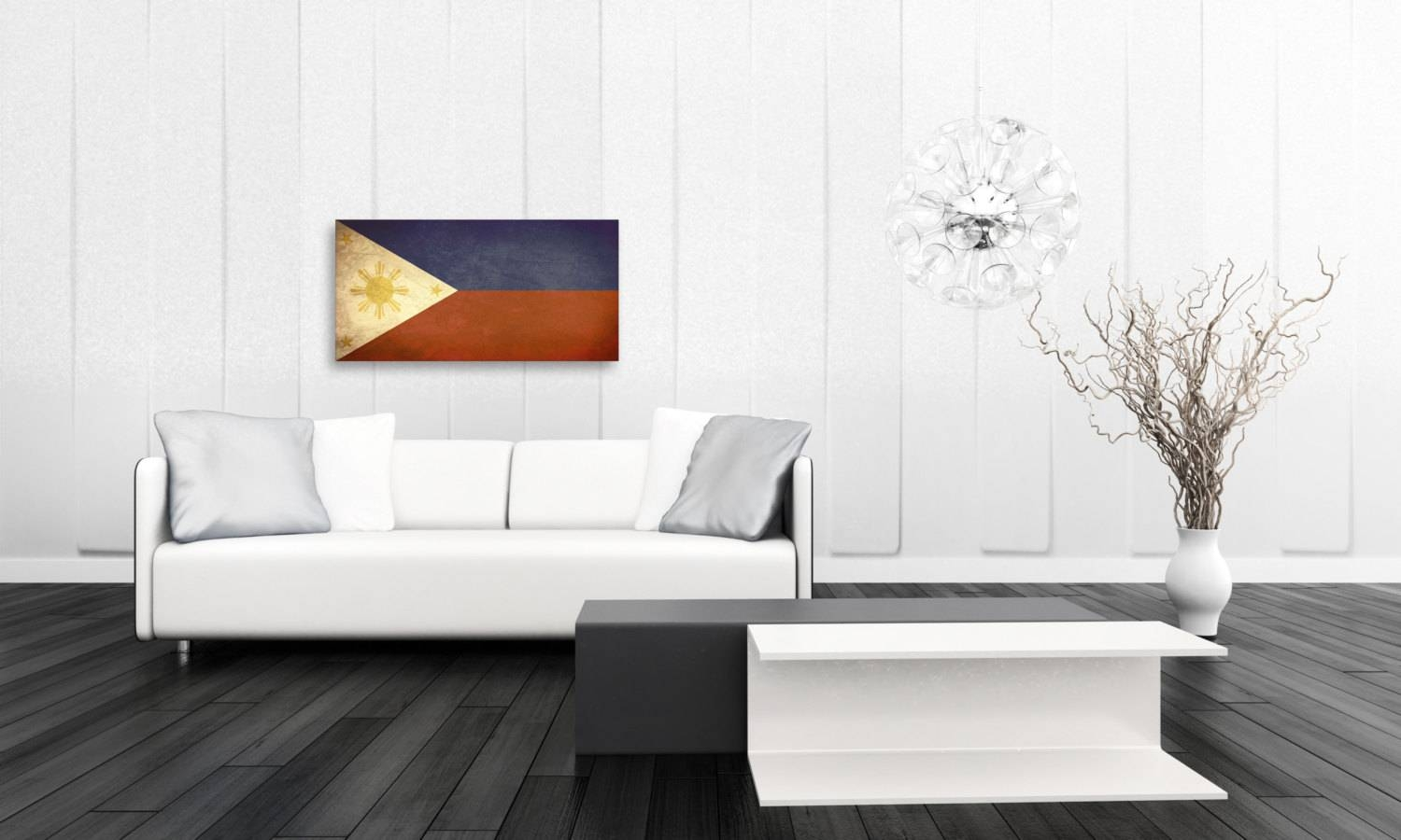 Vintage Filipino Flag Room Decor Gift Ideas Fine Art Inside Most Popular Filipino Wall Art (Gallery 17 of 30)
