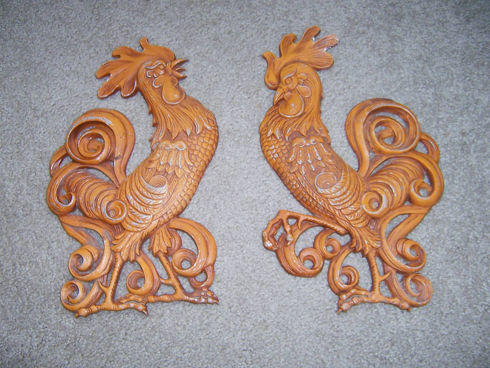Vintage Goodness 1.0: Featured Collectible – Vintage Sexton Wall Decor Regarding Current Metal Rooster Wall Decor (Gallery 18 of 25)